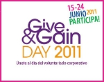 "Imagen del ""Give and Gain Day"""